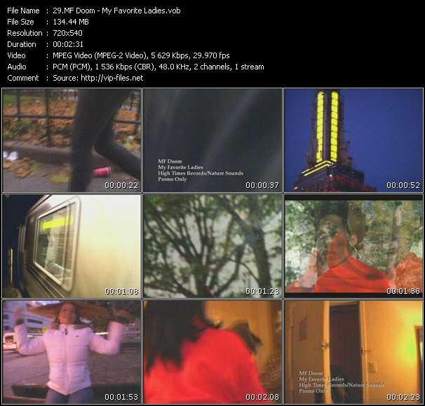 MF Doom video screenshot