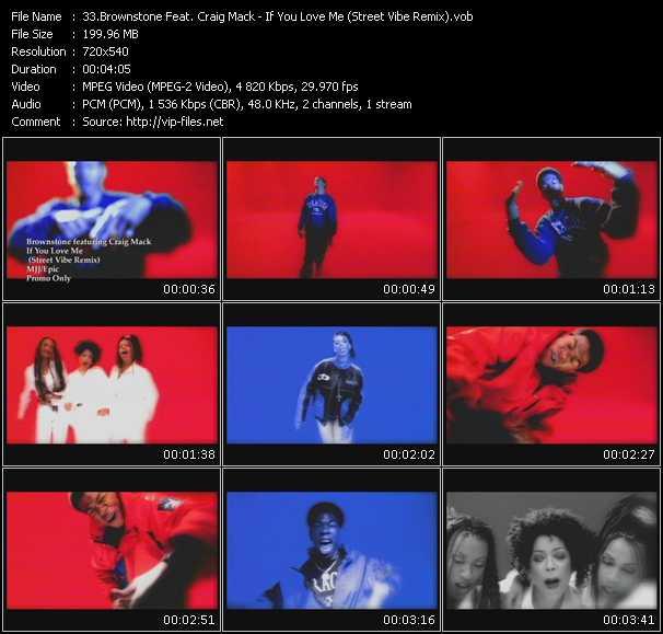 Brownstone Feat. Craig Mack video screenshot