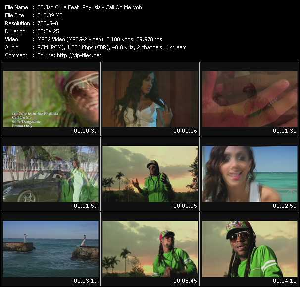 Jah Cure Feat. Phyllisia video screenshot