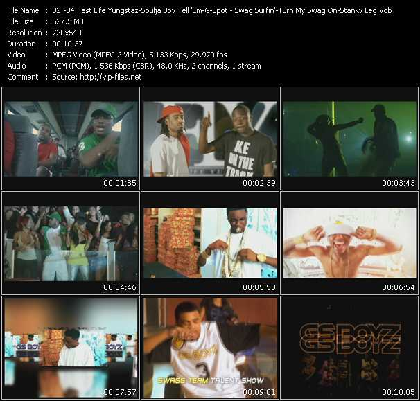 Fast Life Yungstaz (F.L.Y.) - Soulja Boy Tell 'Em - GS Boyz (G-Spot Boyz) video screenshot