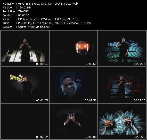 Chali 2na Feat. Talib Kweli video screenshot