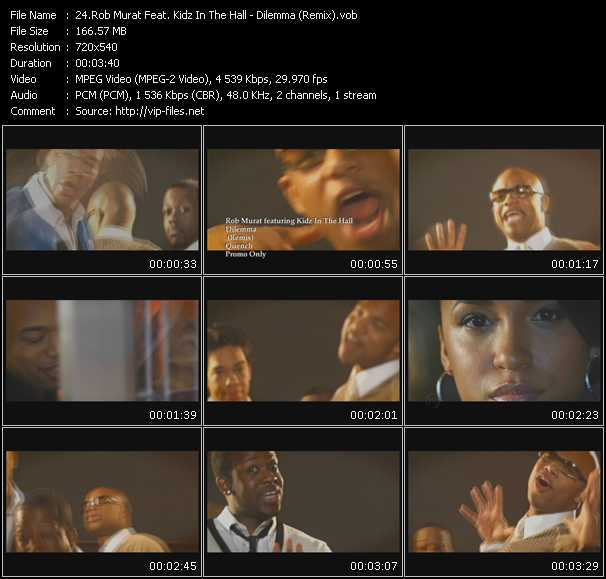Rob Murat Feat. Kidz In The Hall video screenshot