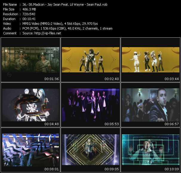 Madcon - Jay Sean Feat. Lil' Wayne - Sean Paul video screenshot