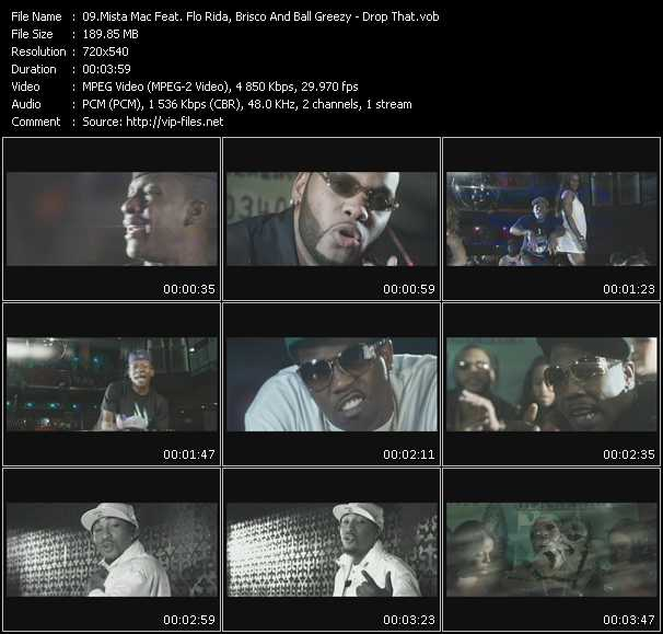Mista Mac Feat. Flo Rida, Brisco And Ball Greezy video screenshot