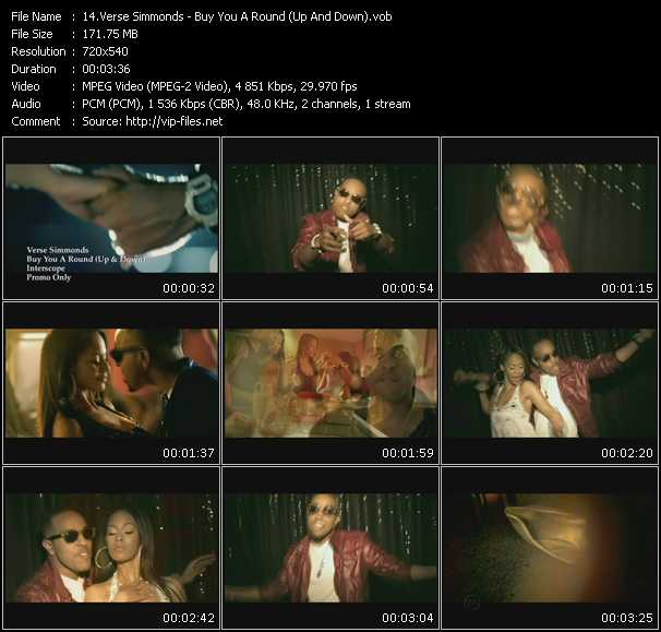 Verse Simmonds video screenshot