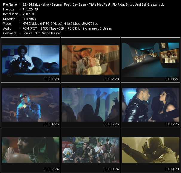 Krizz Kaliko - Birdman Feat. Jay Sean - Mista Mac Feat. Flo Rida, Brisco And Ball Greezy video screenshot