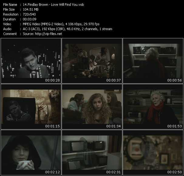 Findlay Brown video screenshot