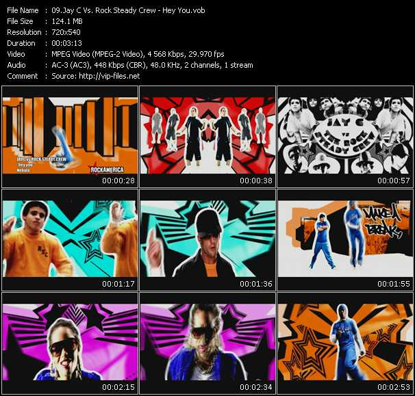 Jay C Vs. Rock Steady Crew video screenshot