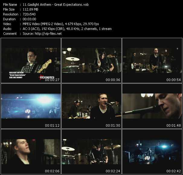 Gaslight Anthem video screenshot