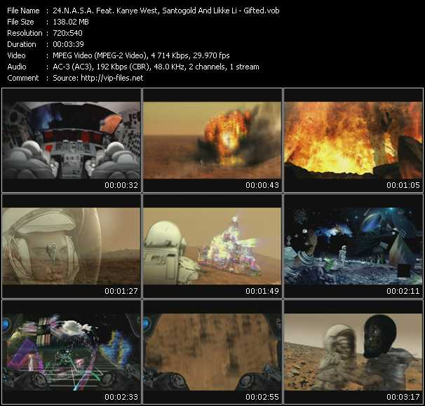 N.A.S.A. Feat. Kanye West, Santigold (Santogold) And Lykke Li video screenshot