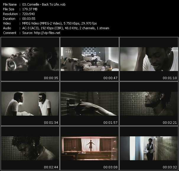 Corneille video screenshot