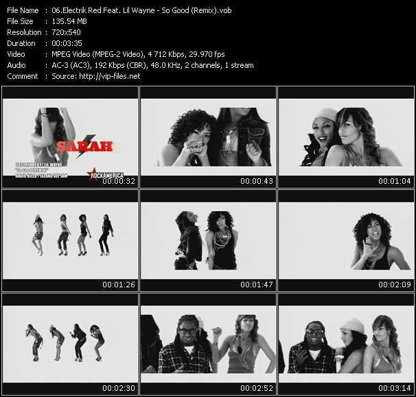 Electrik Red Feat. Lil' Wayne video screenshot