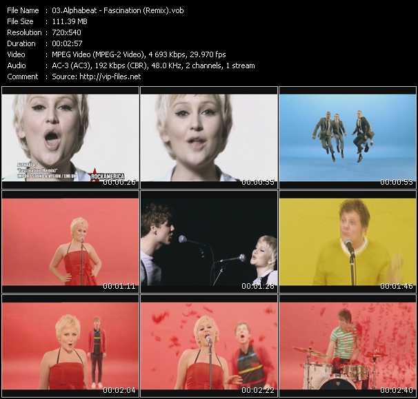 Alphabeat video screenshot