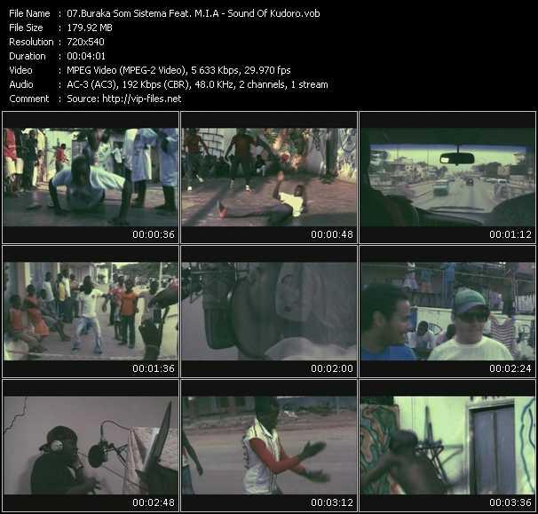 Buraka Som Sistema Feat. M.I.A. video screenshot