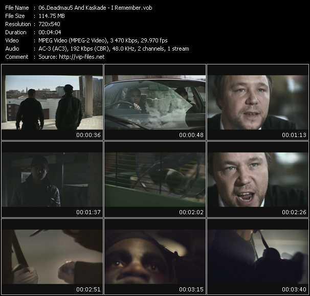 video I Remember screen
