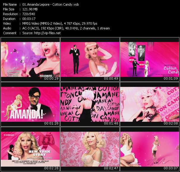 Amanda Lepore video screenshot