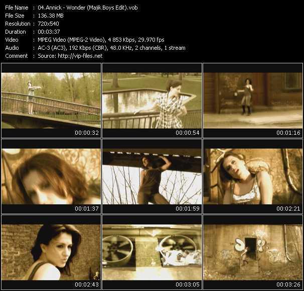 video Wonder (Majik Boys Edit) screen