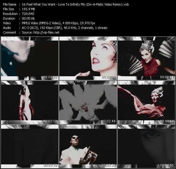 Feel What You Want video screenshot