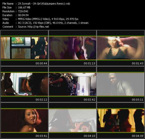 Synnnah video screenshot
