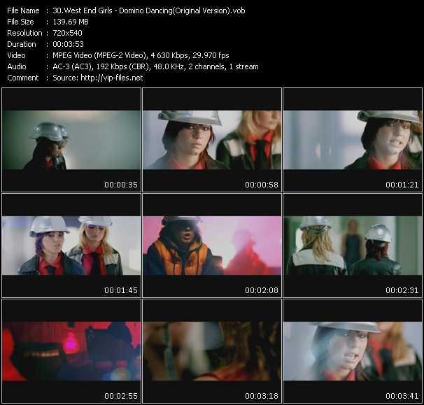 West End Girls video screenshot