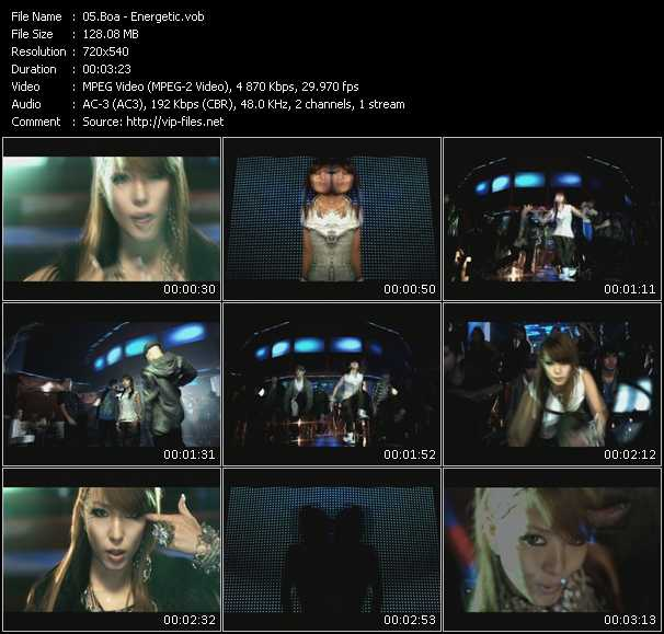 BoA video screenshot