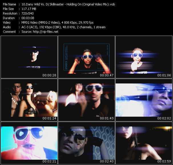 video Holding On (Original Video Mix) screen