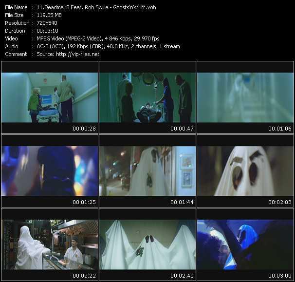 video Ghosts'n'stuff screen