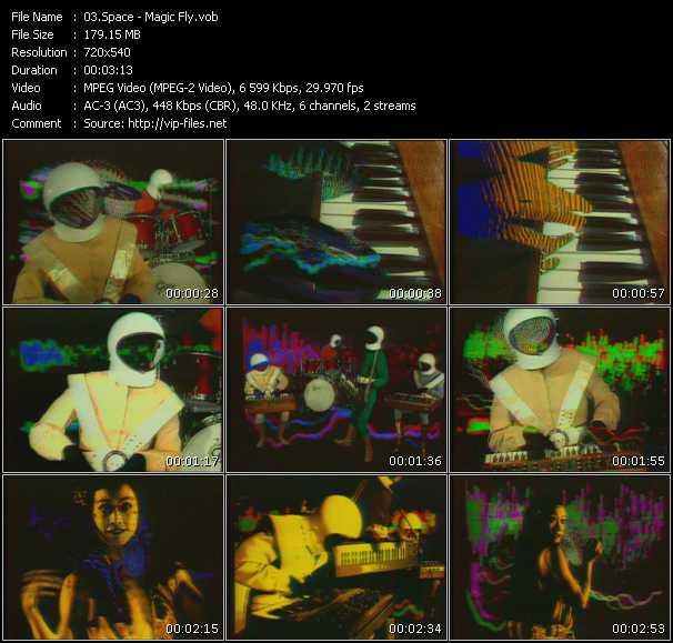 Space video screenshot