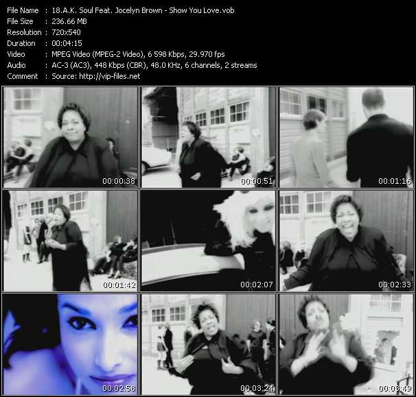 A.K. Soul Feat. Jocelyn Brown video screenshot