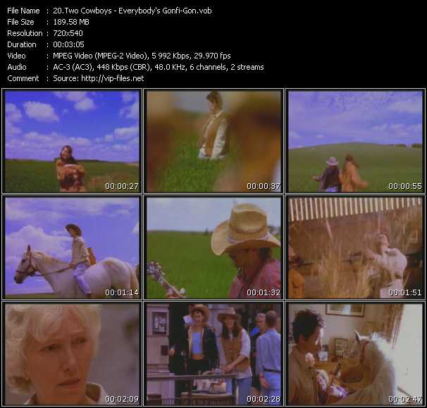 Two Cowboys video screenshot