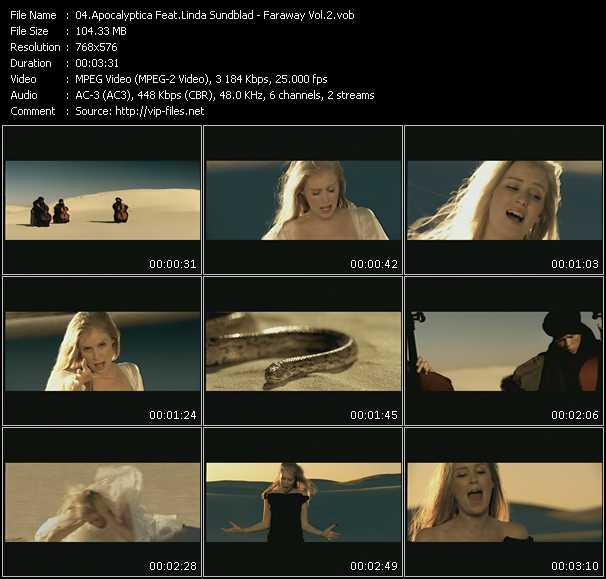 Apocalyptica Feat. Linda Sundblad video screenshot