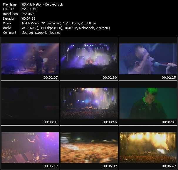 VNV Nation video screenshot