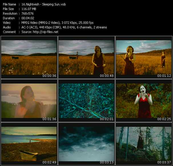 Nightwish video screenshot