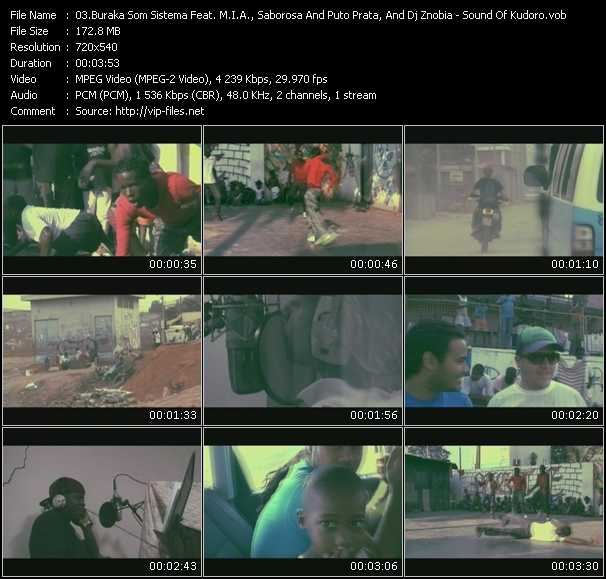 Buraka Som Sistema Feat. M.I.A., Saborosa And Puto Prata, And Dj Znobia video screenshot