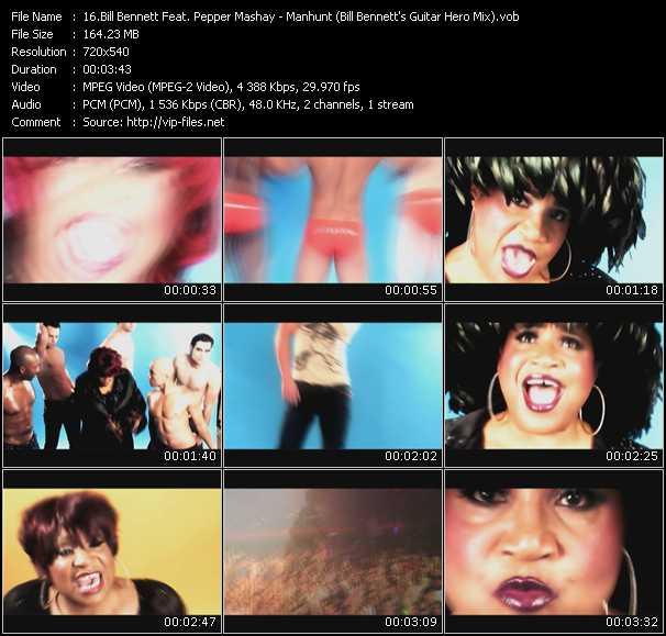 Bill Bennett Feat. Pepper Mashay video screenshot