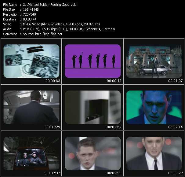Michael Buble video screenshot