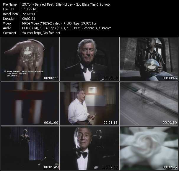 Tony Bennett Feat. Billie Holiday video screenshot