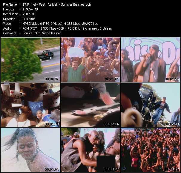 R. Kelly Feat. Aaliyah video screenshot
