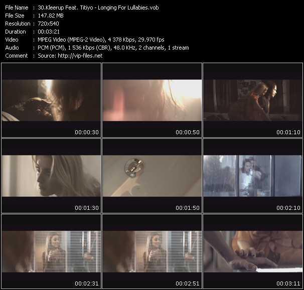 Kleerup Feat. Titiyo video screenshot