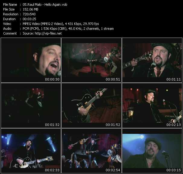 Raul Malo video screenshot