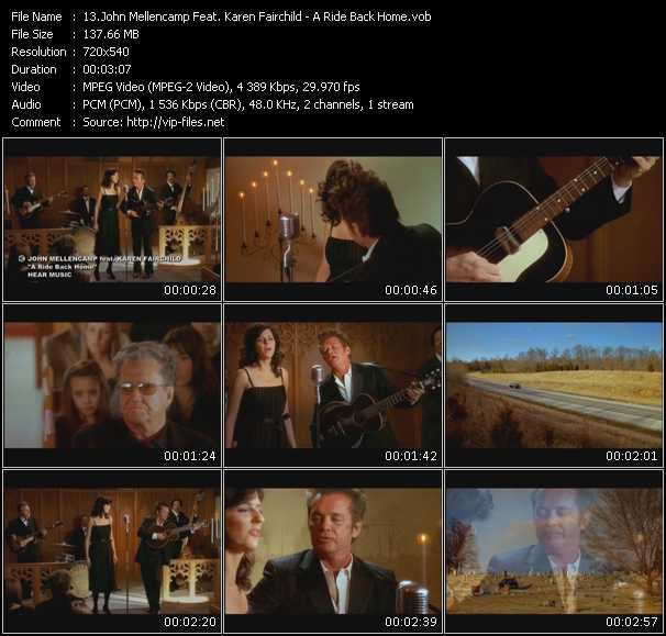John Cougar Mellencamp Feat. Karen Fairchild video screenshot