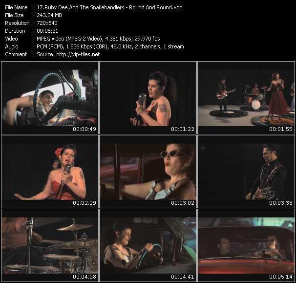 Ruby Dee And The Snakehandlers video screenshot