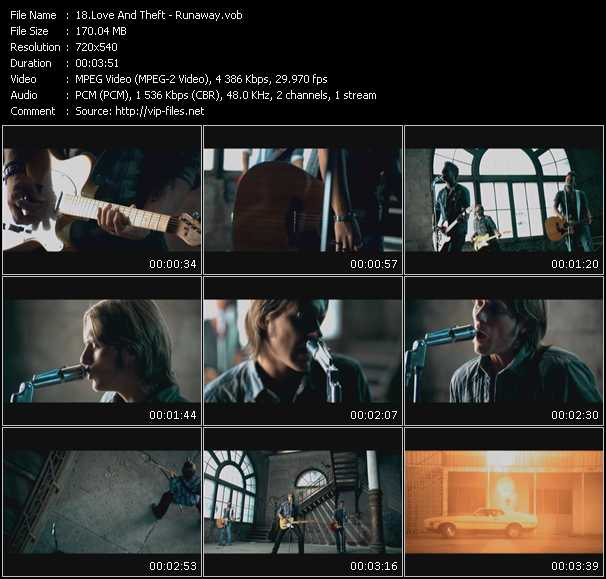 Love And Theft video screenshot