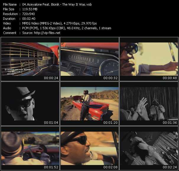 Aceyalone Feat. Bionik video screenshot