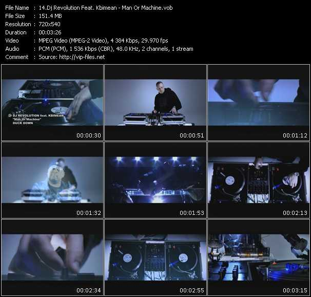 Dj Revolution Feat. Kbimean video screenshot