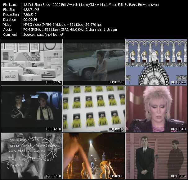 video 2009 Brit Awards Medley (Div-A-Matic Video Edit By Barry Browder) screen