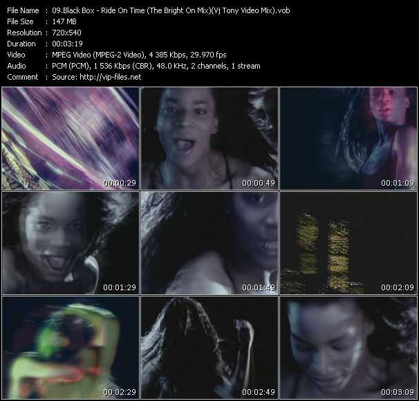 video Ride On Time (The Bright On Mix) (Vj Tony Video Mix) screen