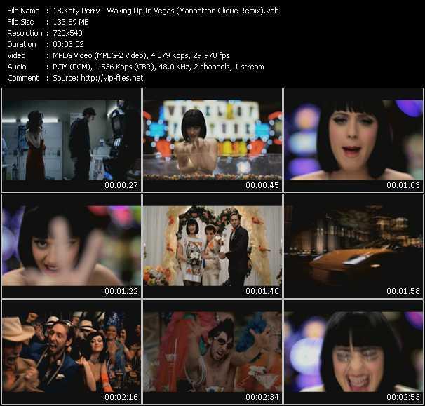 video Waking Up In Vegas (Manhattan Clique Remix) screen