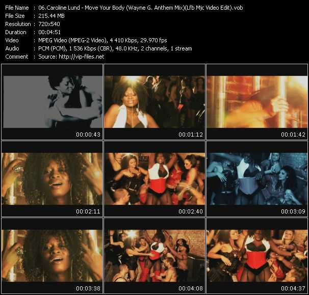 video Move Your Body (Wayne G. Anthem Mix) (Lfb Mjc Video Edit) screen