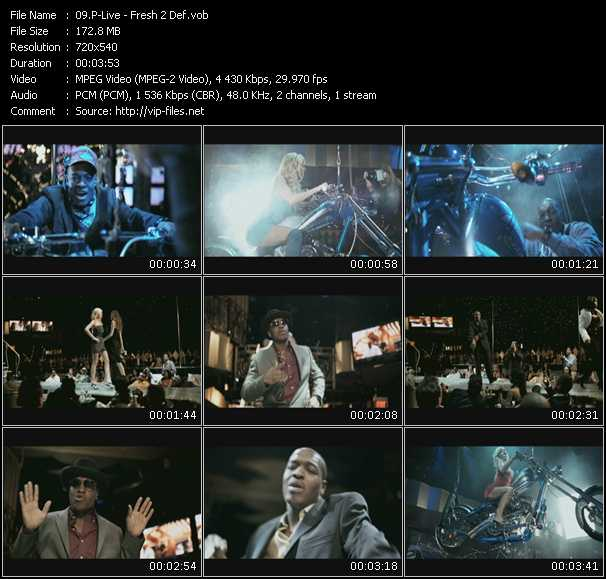 P-Live video screenshot